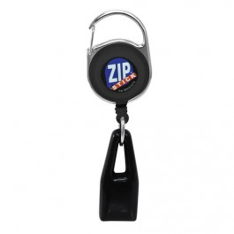 Black White Zip Stick®, Lip Balm Attachment