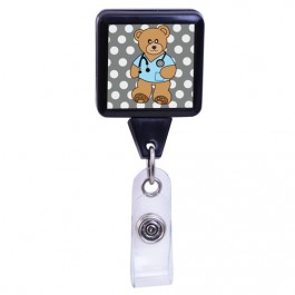 Doctor Bear - Medical Series Plastic Badge Reel