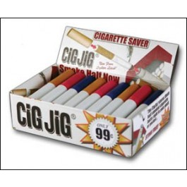 CigJig® - 30 Count Display Box - Colored Caps