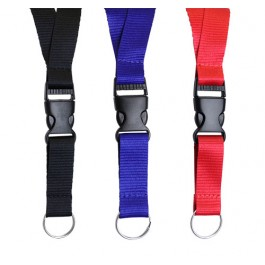 Neck Lanyard with Buckle Strap