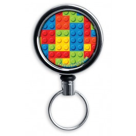 Mirrored Chrome Retractable Reel ONLY – Lego
