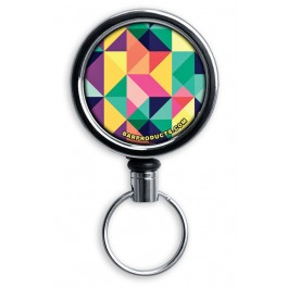 Mirrored Chrome Retractable Reel ONLY – Colorful Prism