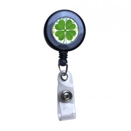 Black - Lucky Sham Series, Translucent Badge Reel