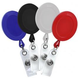 Oval Plastic ID Badge Reel