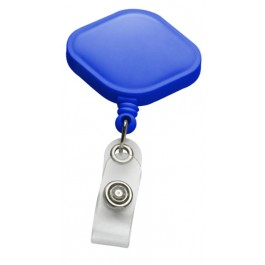 Rounded Diamond-shape Plastic ID Badge Reel