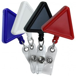 Triangle ID Badge Reel, 4 colors