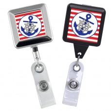 Blue Anchor ID Badge Reel Series