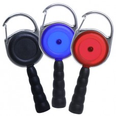 Carabiner Reel, Beehive Pen Attachment, 3 Colors