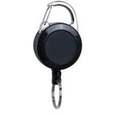 Carabiner Reel w/ Pull-Stop Function & Slide-Lock