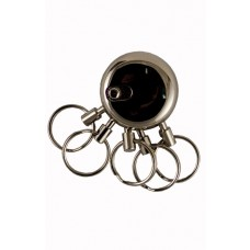 Five Ring Detachable Keychain