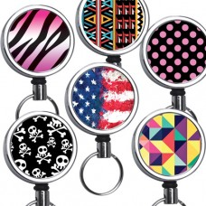 Mid Size Mirror Chrome Retractable Reel Designer Series