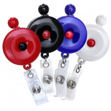 Lanyard Badge Reel, Button Stop