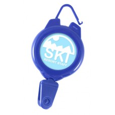 Light Duty Ski Badge Reel, three colors