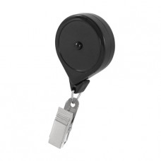 Push-lock button Retractable Badge Reel with Alligator Clip