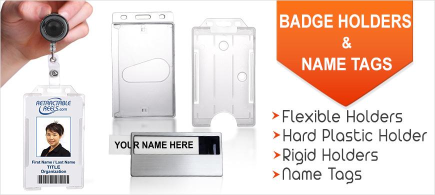 name tag id badge holder